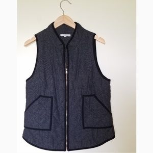 41 Hawthorne Herringbone Quilted Vest
